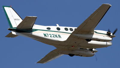 N722KR - Beechcraft C90A King Air - Private