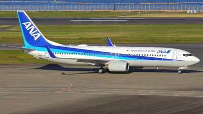 A picture of JA62AN - Boeing 737881 - All Nippon Airways - © tora-spotter