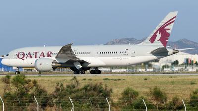 A picture of A7BCS - Boeing 7878 Dreamliner - Qatar Airways - © George Chaidaris