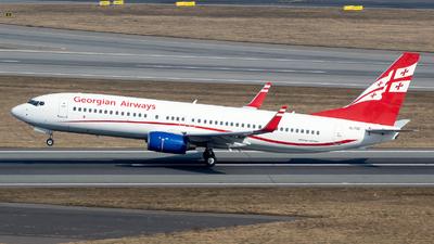 A picture of 4LTGC - Boeing 7378FH - Georgian Airways - © RAFAL KUKOWSKI