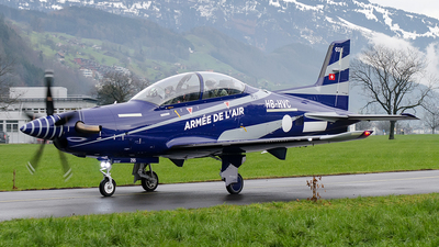HB-HVC - Pilatus PC-21 - France - Air Force
