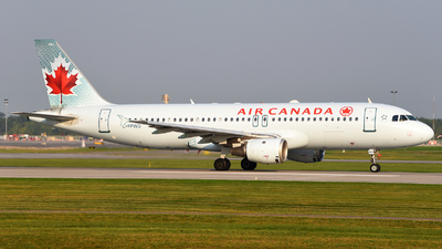 C-FPWD - Airbus A320-211 - Air Canada