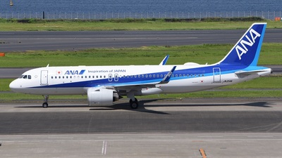 JA214A - Airbus A320-271N - All Nippon Airways (ANA)