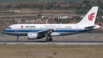 B-6034 - Airbus A319-115 - Air China