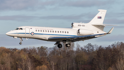 A56-001 - Dassault Falcon 7X - Australia - Royal Australian Air Force (RAAF)