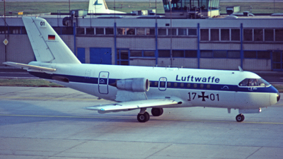 17-01 - VFW-Fokker VFW-614 - Germany - Air Force