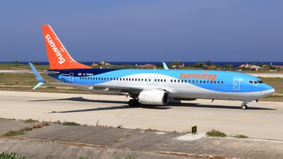 A picture of GTAWN - Boeing 7378K5 - TUI fly - © Helmut Schnichels