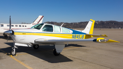 N845JB - Beechcraft F33A Bonanza - Private