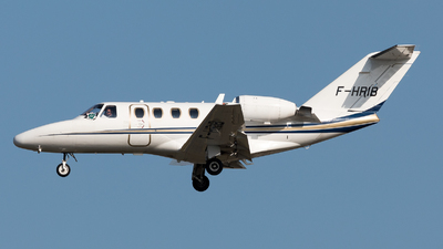 F-HRIB - Cessna 525 Citationjet CJ1 - VallJet