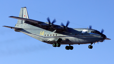 14 - Antonov An-12PS - Russia - Navy