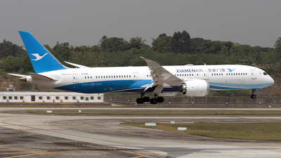 A picture of B7836 - Boeing 7879 Dreamliner - Xiamen Air - © BCG554
