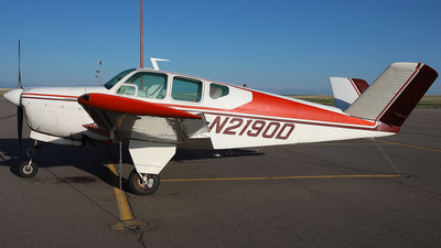 N2190D - Beechcraft D35 Bonanza - Private