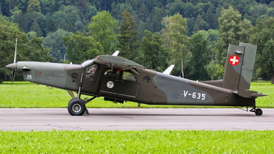 V-635 - Pilatus PC-6/B2-H2 Turbo Porter - Switzerland - Air Force