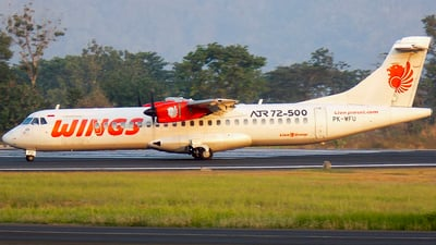 PK-WFU - ATR 72-212A(500) - Wings Air