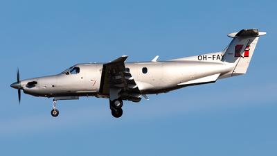 OH-FAY - Pilatus PC-12/47E - Fly 7 Executive Aviation