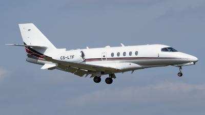 A picture of CSLTF - Cessna 680A Citation Latitude - NetJets - © RAFAL KUKOWSKI