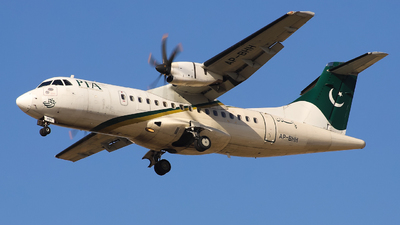 A picture of APBHH - ATR 42500 - Pakistan International Airlines - © Shajie Hussain