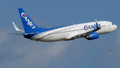 C-FXGG - Boeing 737-81Q - CanJet Airlines