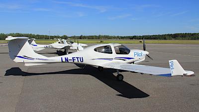 LN-FTU - Diamond DA-40NG Diamond Star - Pilot Flight Academy