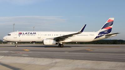 PT-MXO - Airbus A321-231 - LATAM Airlines