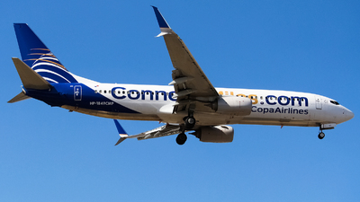 HP-1849CMP - Boeing 737-8V3 - Copa Airlines
