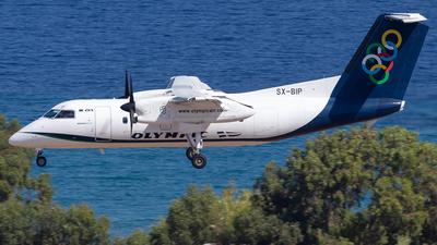 A picture of SXBIP - De Havilland Canada Dash 8100 - Olympic Air - © Niklas Engel