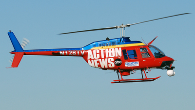 N128TV - Bell 206B JetRanger III - Private