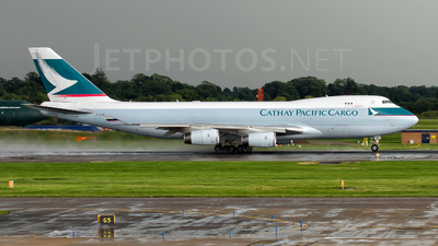 B-HUQ - Boeing 747-467F(SCD) - Cathay Pacific Cargo
