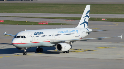 A picture of SXDGD - Airbus A320232 - Aegean Airlines - © Justin Stöckel