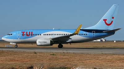 A picture of OOJAL - Boeing 7377K2 - TUI fly - © paulo carvalho