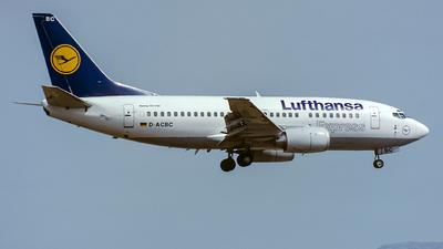 D-ACBC - Boeing 737-505 - Lufthansa Express