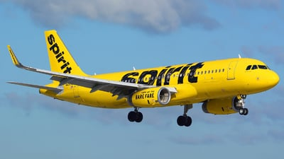 N690NK - Airbus A320-232 - Spirit Airlines