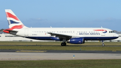 G-EUUJ - Airbus A320-232 - British Airways
