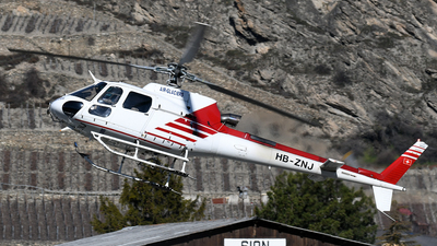 HB-ZNJ - Eurocopter AS 350B3 Ecureuil - Air Glaciers