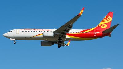 B-5137 - Boeing 737-84P - Hainan Airlines