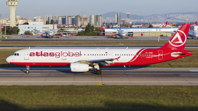 TC-AGS - Airbus A321-231 - AtlasGlobal