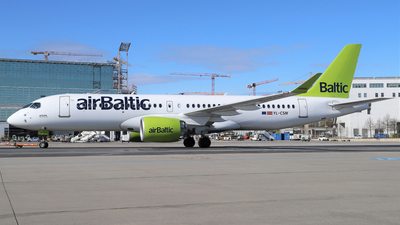 A picture of YLCSM - Airbus A220300 - Air Baltic - © Alexander Mohl