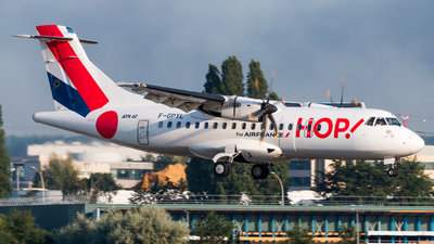 F-GPYL - ATR 42-500 - HOP! for Air France