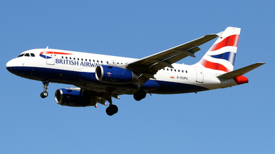 A picture of GEUPU - Airbus A319131 - British Airways - © Javier Rodriguez - Amics de Son Sant Joan