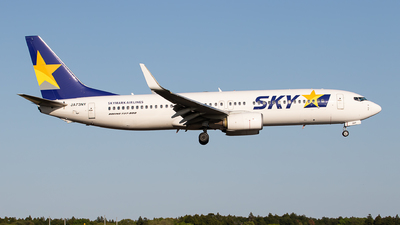 A picture of JA73NY - Boeing 73786N - Skymark Airlines - © Eiki Watanabe