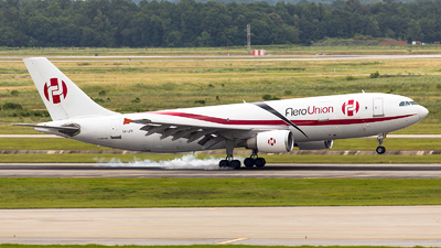 A picture of XALFR - Airbus A300C4605R(F) - AeroUnion - © GFB