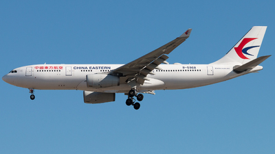 B-5968 - Airbus A330-243 - China Eastern Airlines