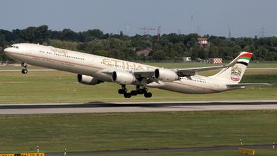 A6-EHI - Airbus A340-642X - Etihad Airways