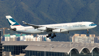 B-HXJ - Airbus A340-313X - Cathay Pacific Airways