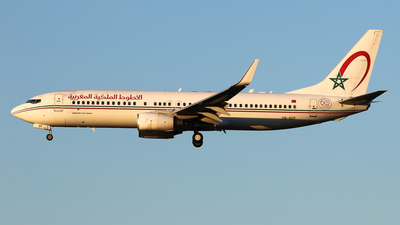 A picture of CNROY - Boeing 7378B6 - Royal Air Maroc - © BaszB