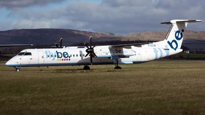A picture of GECOB - De Havilland Canada Dash 8400 - Flybe - © Darren Conn