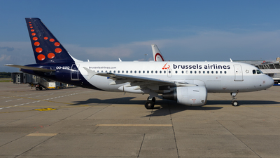 A picture of OOSSQ - Airbus A319112 - Brussels Airlines - © Sascha Neuffer