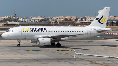E7-FBB - Airbus A319-112 - FlyBosnia