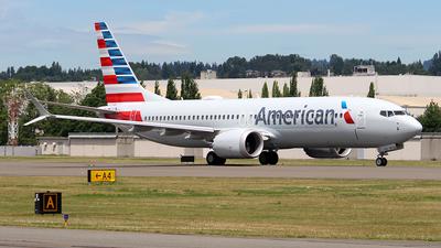 N4022T - Boeing 737-8 MAX - American Airlines