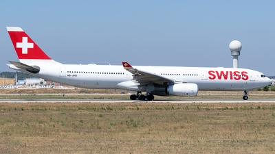 A picture of HBJHD - Airbus A330343 - Swiss - © Fabrizio Spicuglia